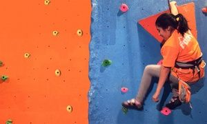 Groupon - Rock-Climbing Pass for Two or Two Groupons, Each Good for a Climb for One at Rock On Adventure (47% Off) in Norwood. Groupon deal price: $16