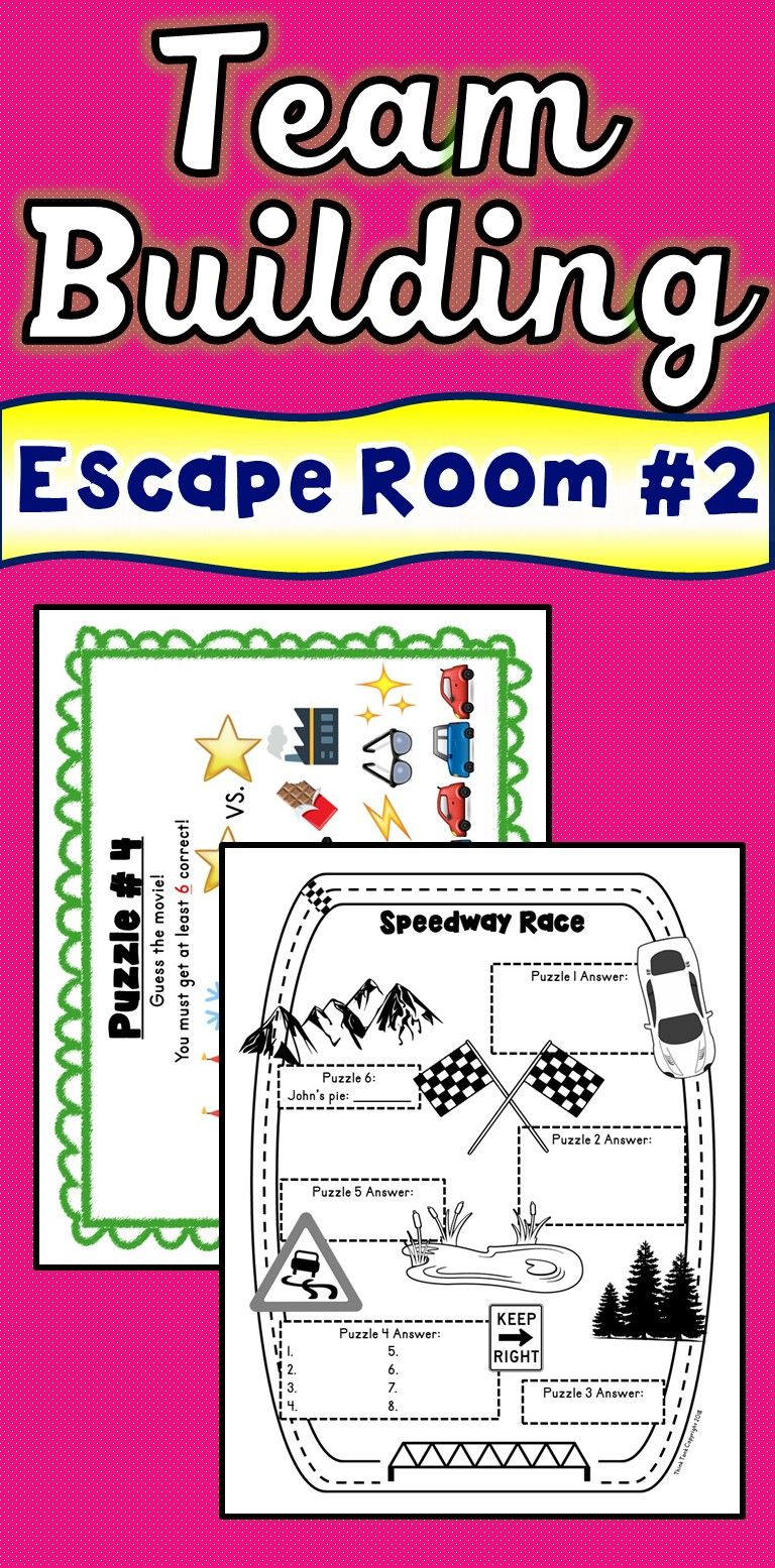 Team Building 2 Escape Room Any Content Teamwork