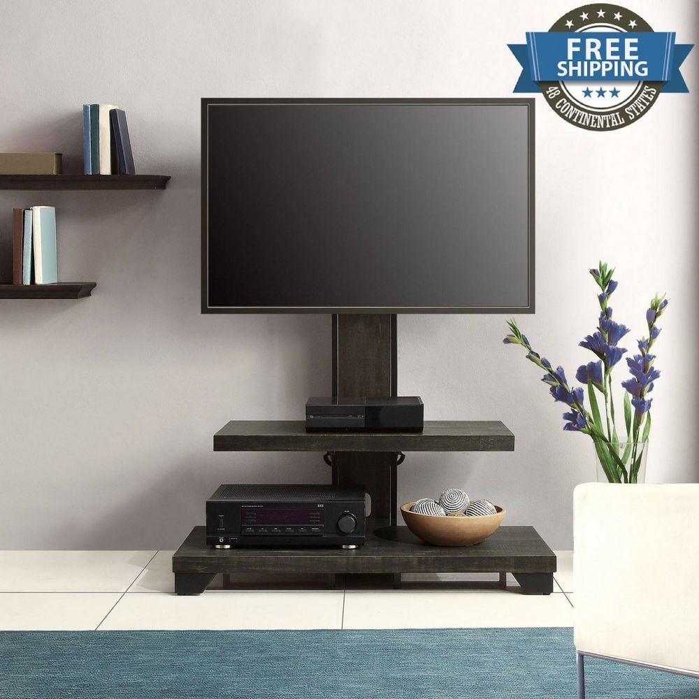 Whalen 2 Shelf Tv Stand With Mount For Tvs Up To 50 New Tv Stands
