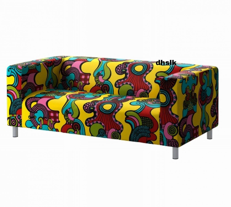 Ikea Klippan Loveseat Sofa Slipcover Cover Mollaryd Multicolor Limited Edition Loveseat Covers Sofa Covers Ikea Sofa