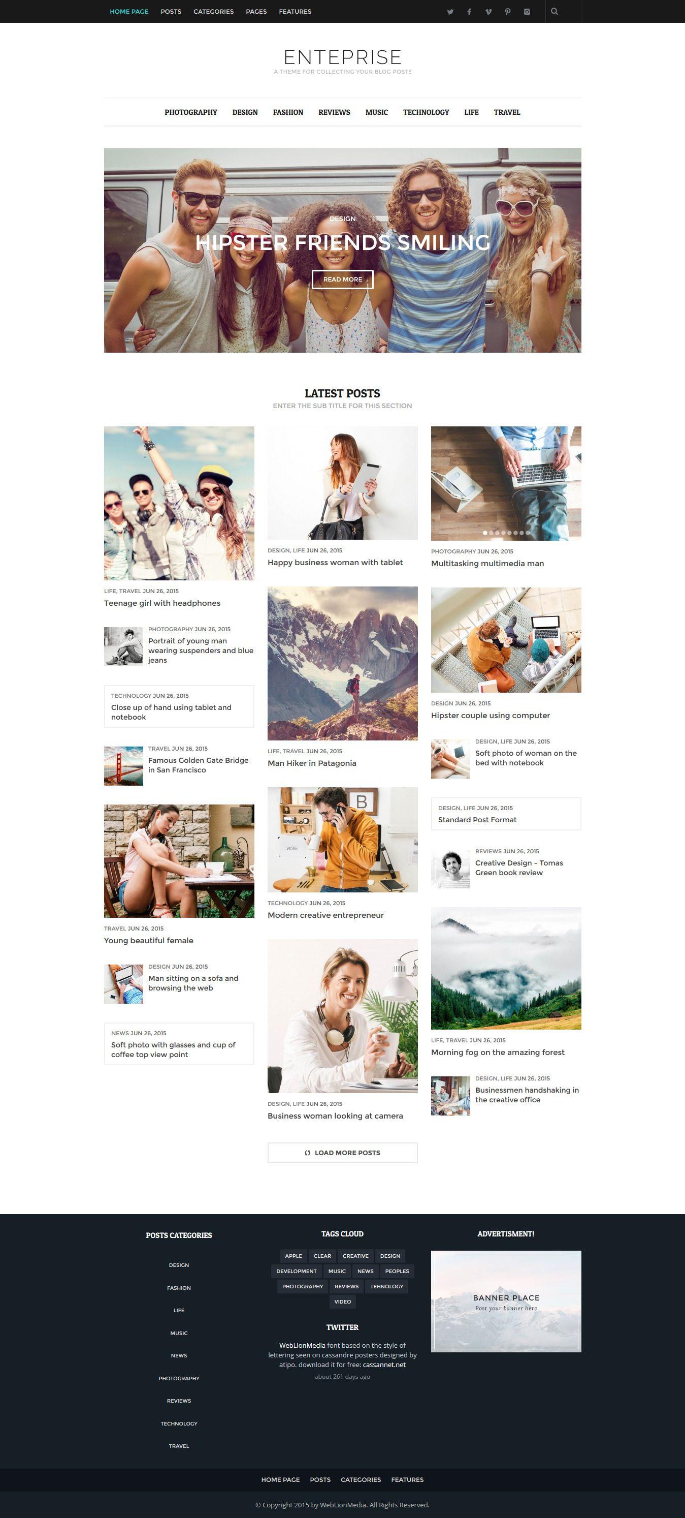 Pin By Website Templates On Wordpress Blog Magazine Themes