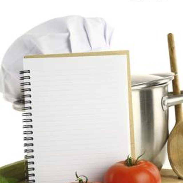 How to Make a Recipe Book Using Microsoft Word Organizing