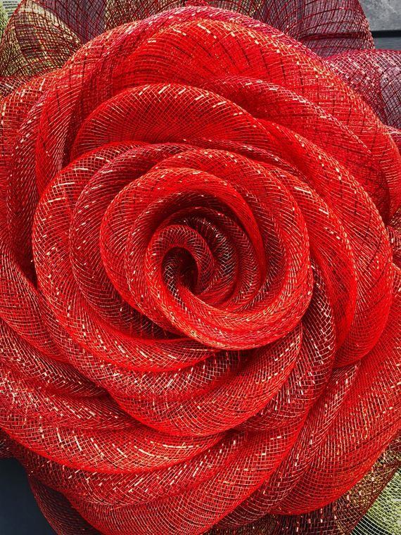 Rose Wreath Rose Wreath for Front Door Wreath Alte