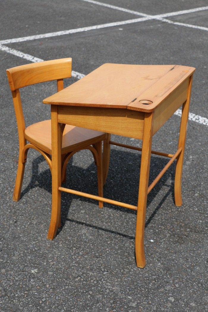 baumann petit bureau d 39 enfant et sa chaise collections. Black Bedroom Furniture Sets. Home Design Ideas
