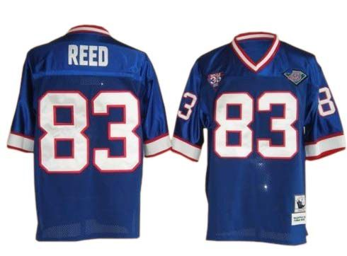 size 40 3d547 06f7d NFL Buffalo Bills #83 Andre Reed Blue throwback Jersey ID ...