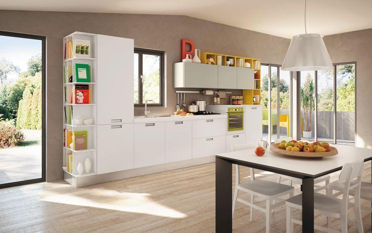 Quelle peinture pour cuisine blanche moderne cuisine peinture cuisine cuisine moderne - Peinture pour cuisine blanche ...