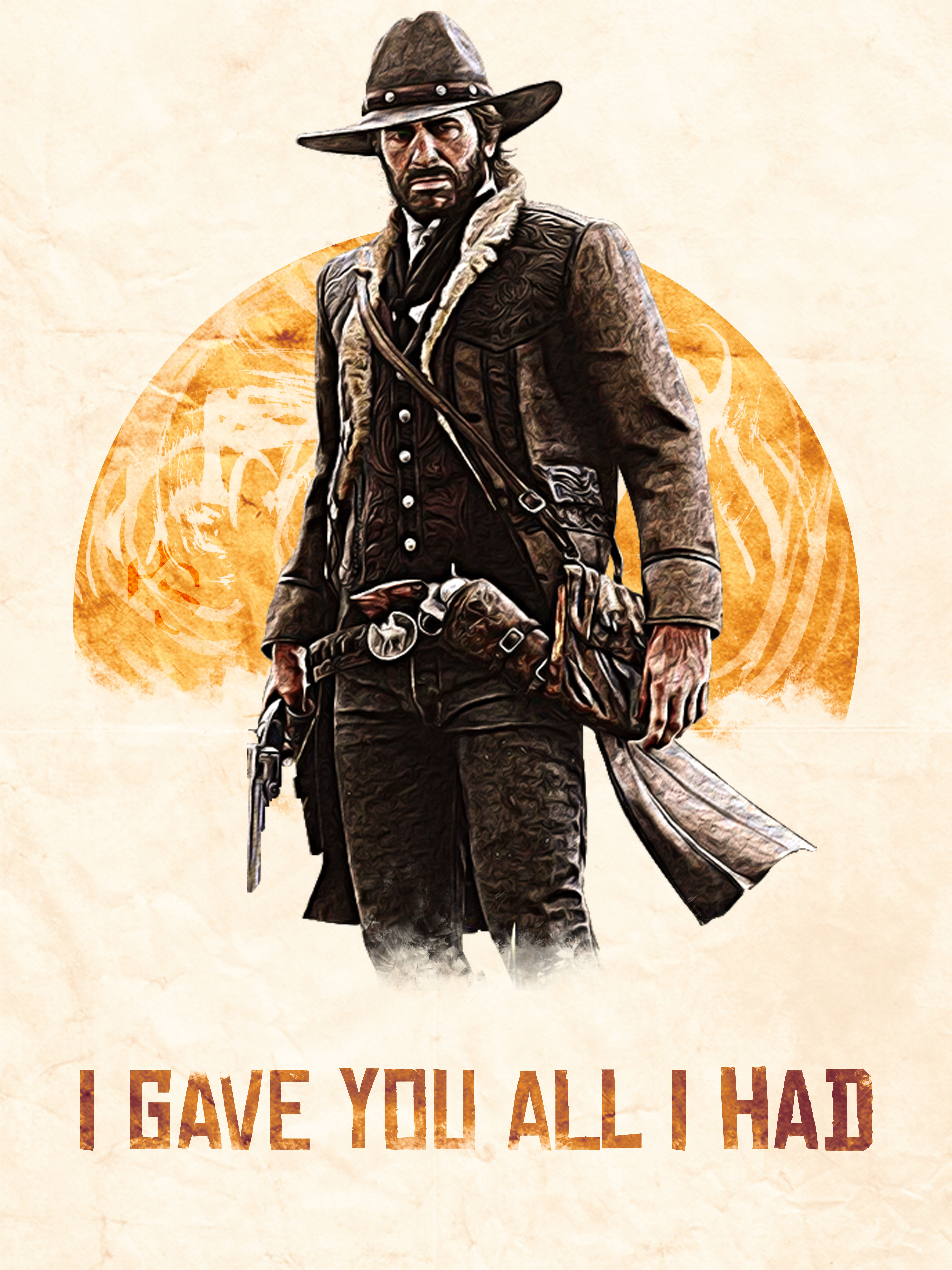 Arthur Morgan I Gave You All I Had Red Dead Redemption Artwork Red Dead Redemption Art Red Dead Redemption