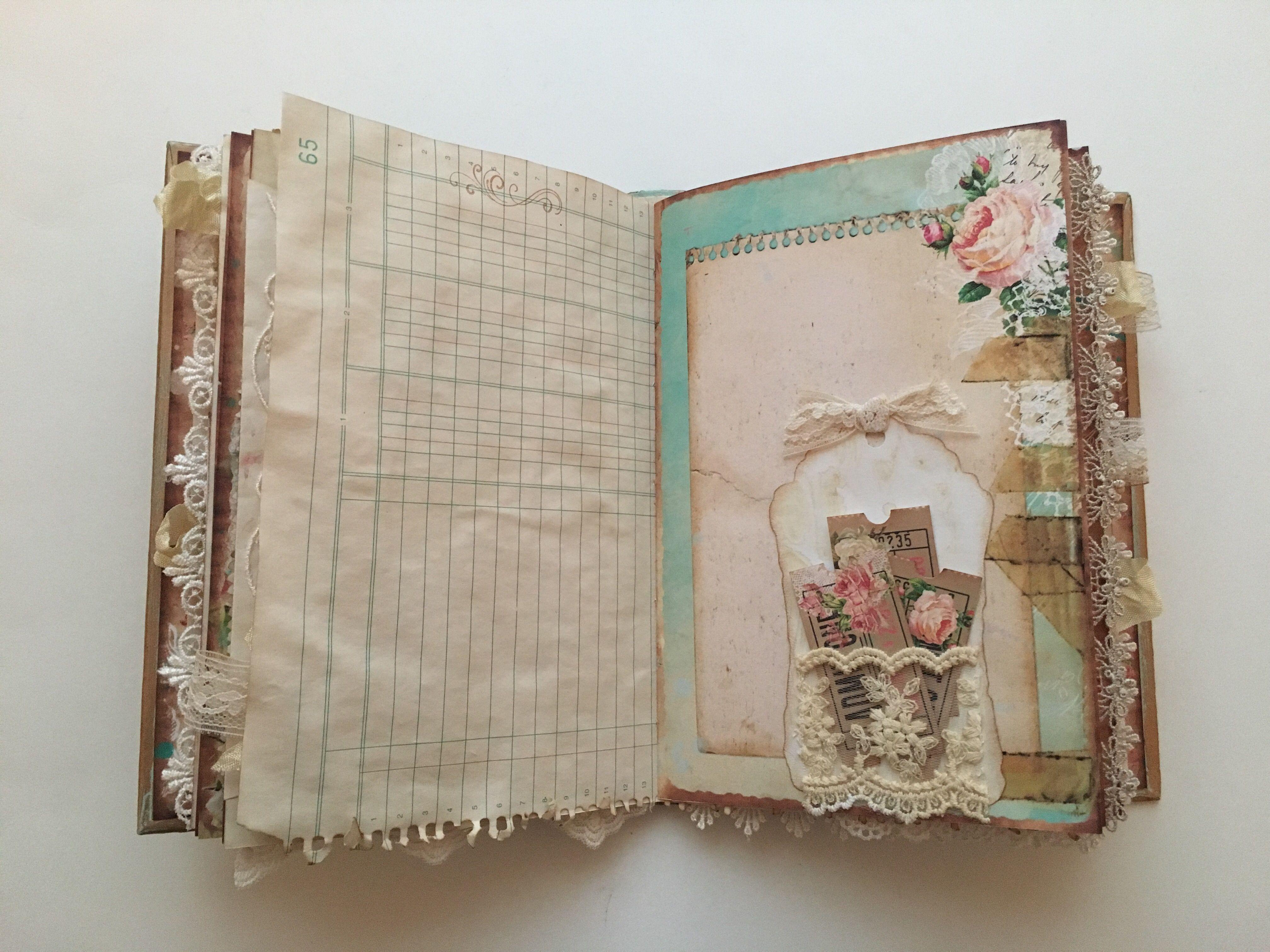 Vintage Journal Vintage Journal Art Journal Inspiration Handmade Journals