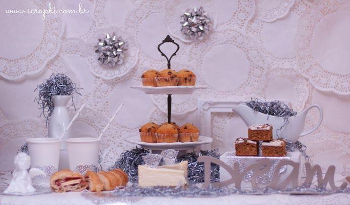 Festa de Inverno - Branco e Prata