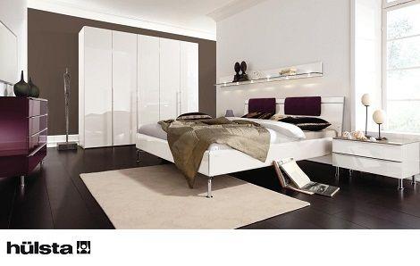 Design Commode Slaapkamer : Hulsta metis plus combinatie met glas wit hoogglans slaapkamer