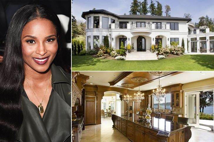 Ciara Meydenbauer Bay Estimated 67 Million RB Singer And Her NFL Quarterback Husband Russell Wilson Share Their 10700 Square Feet Man