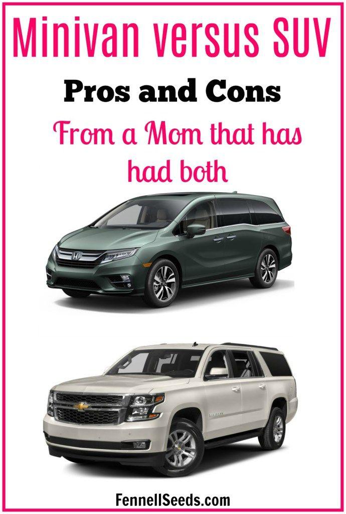 Minivan Vs Suv Should I A Versus