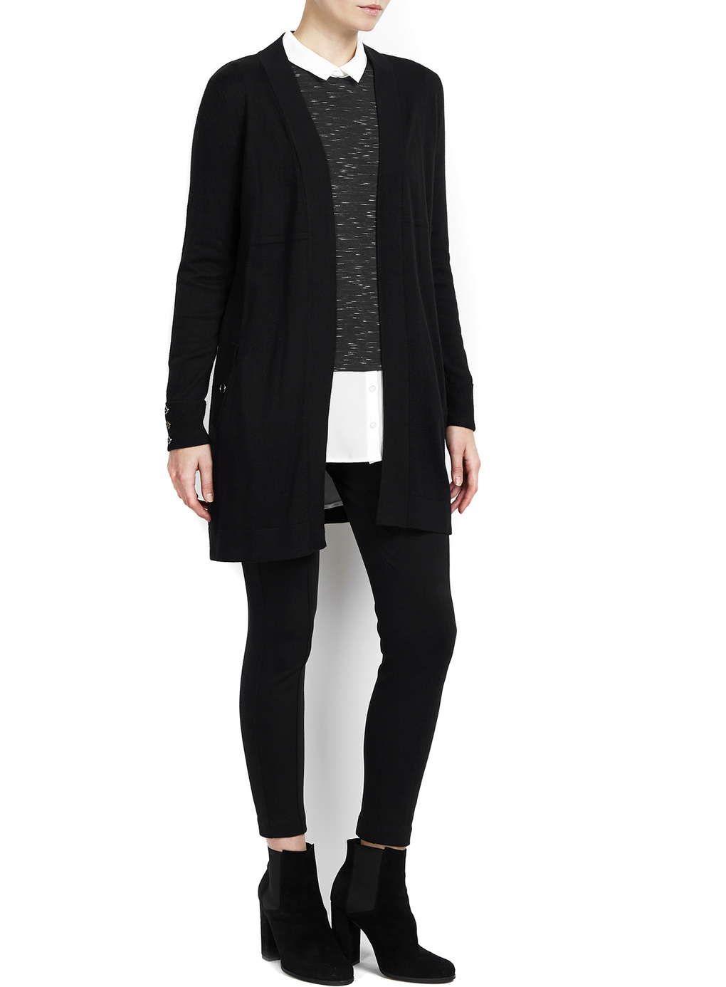 Wallis Petite Black Longline Cardigan | блузы, топы | Pinterest ...