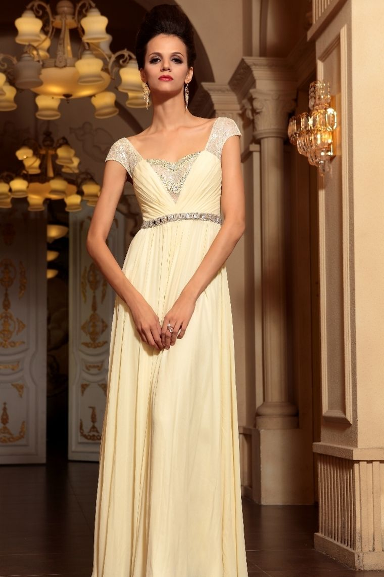 Buy 2013 Prom Dresses A Line Square Chiffon Floor Length ...
