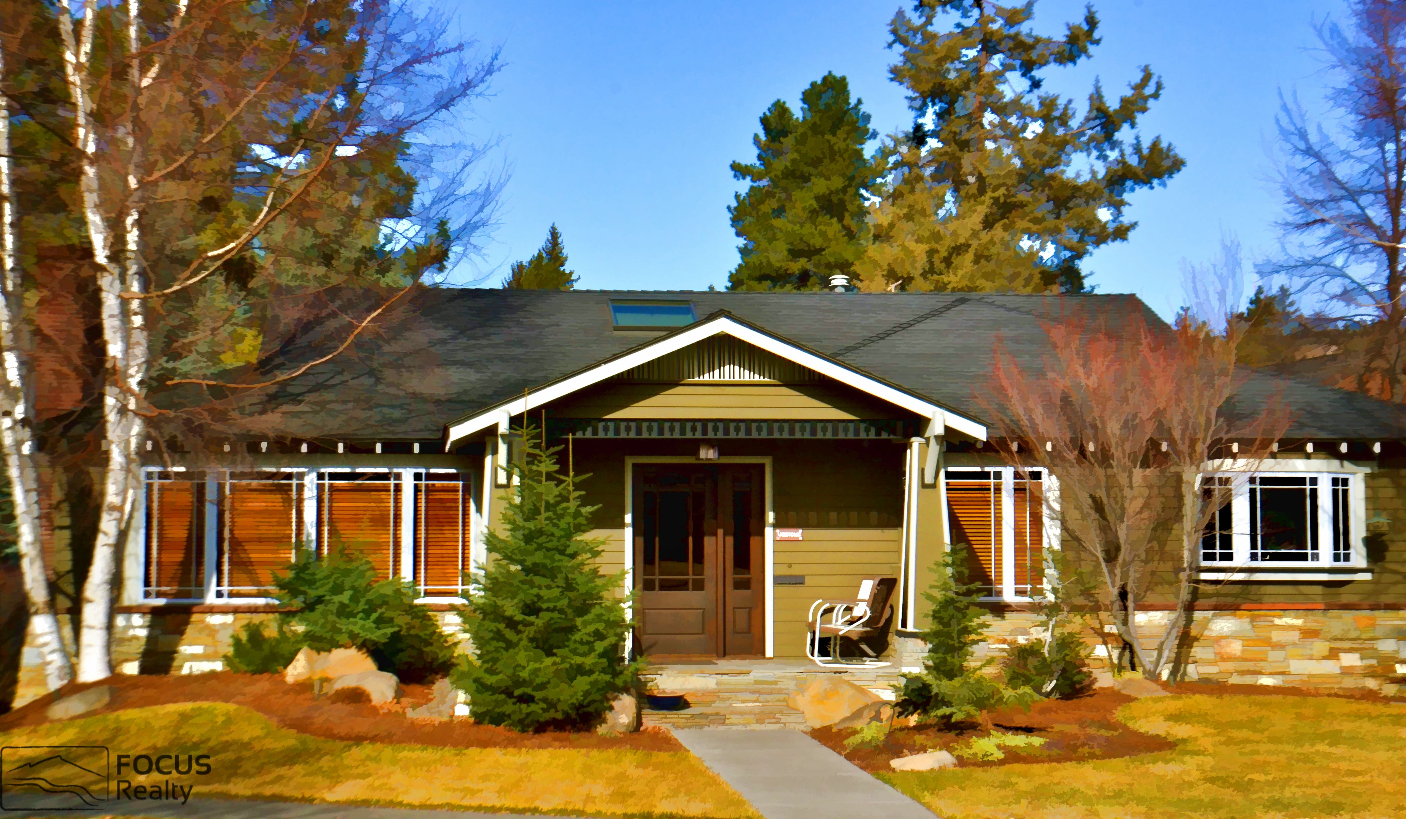 A beautiful cottage in bend oregon craftsman house