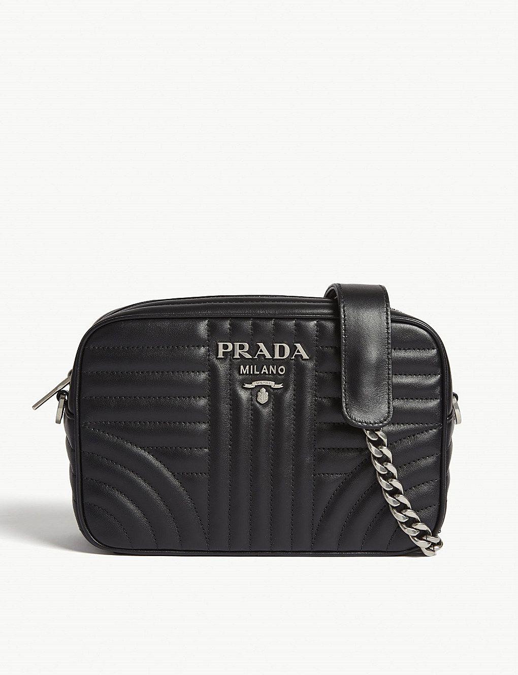 5baec879eab408 PRADA Diagramme leather shoulder bag in 2019 | Luxury Handbags ...
