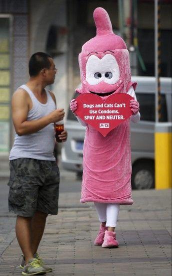 Protesta de PETA
