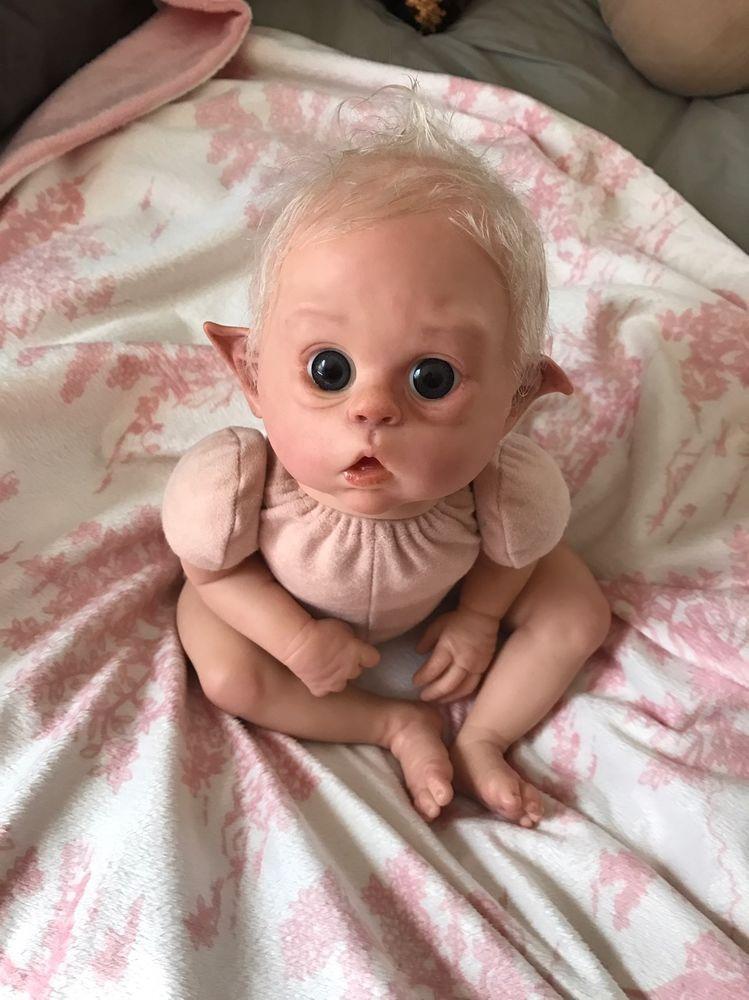 Gorgeous Whimsical Sold Out Reborn Ofelia Olga Auer Elf