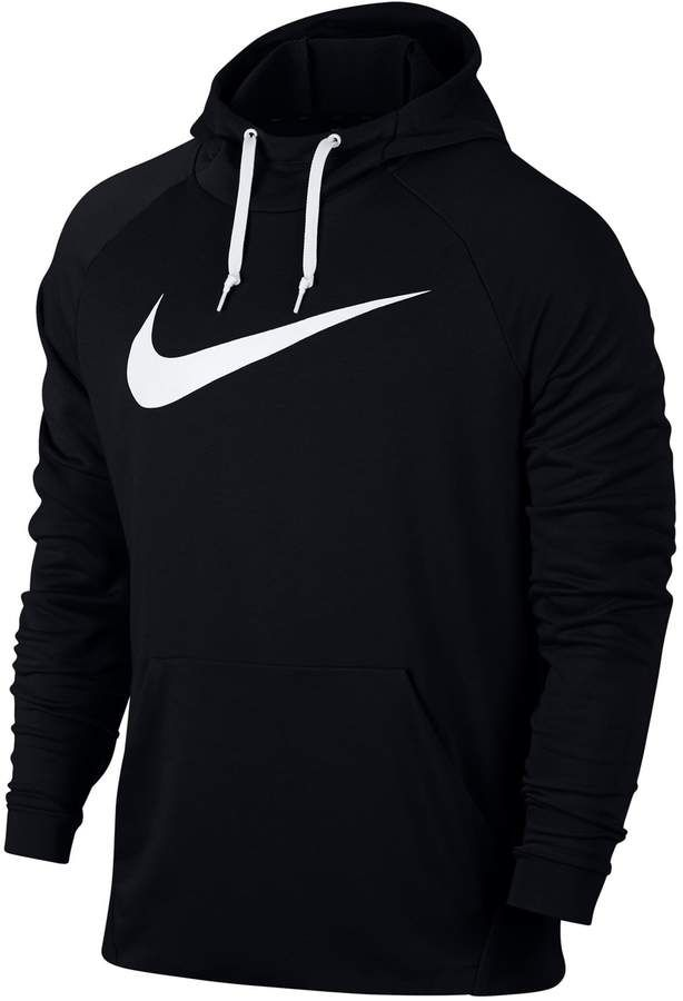 Nike Mens Pull-Over Dri-FIT Swoosh Hoodie