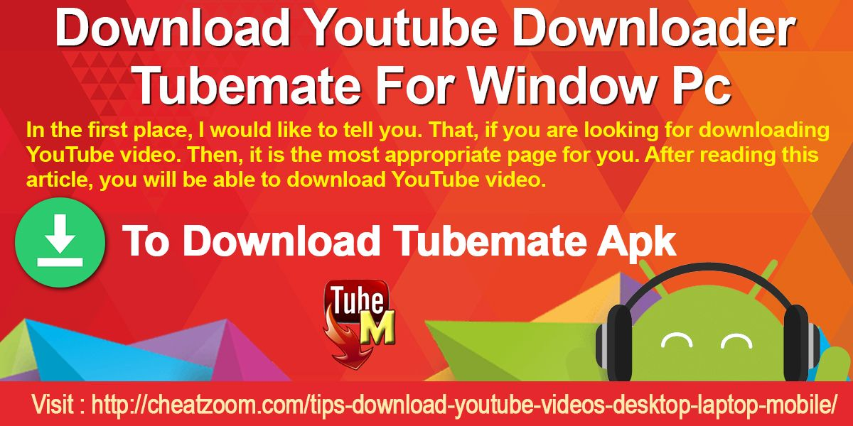 Pin by max g long on download youtube downloader tubemate for pc ccuart Image collections