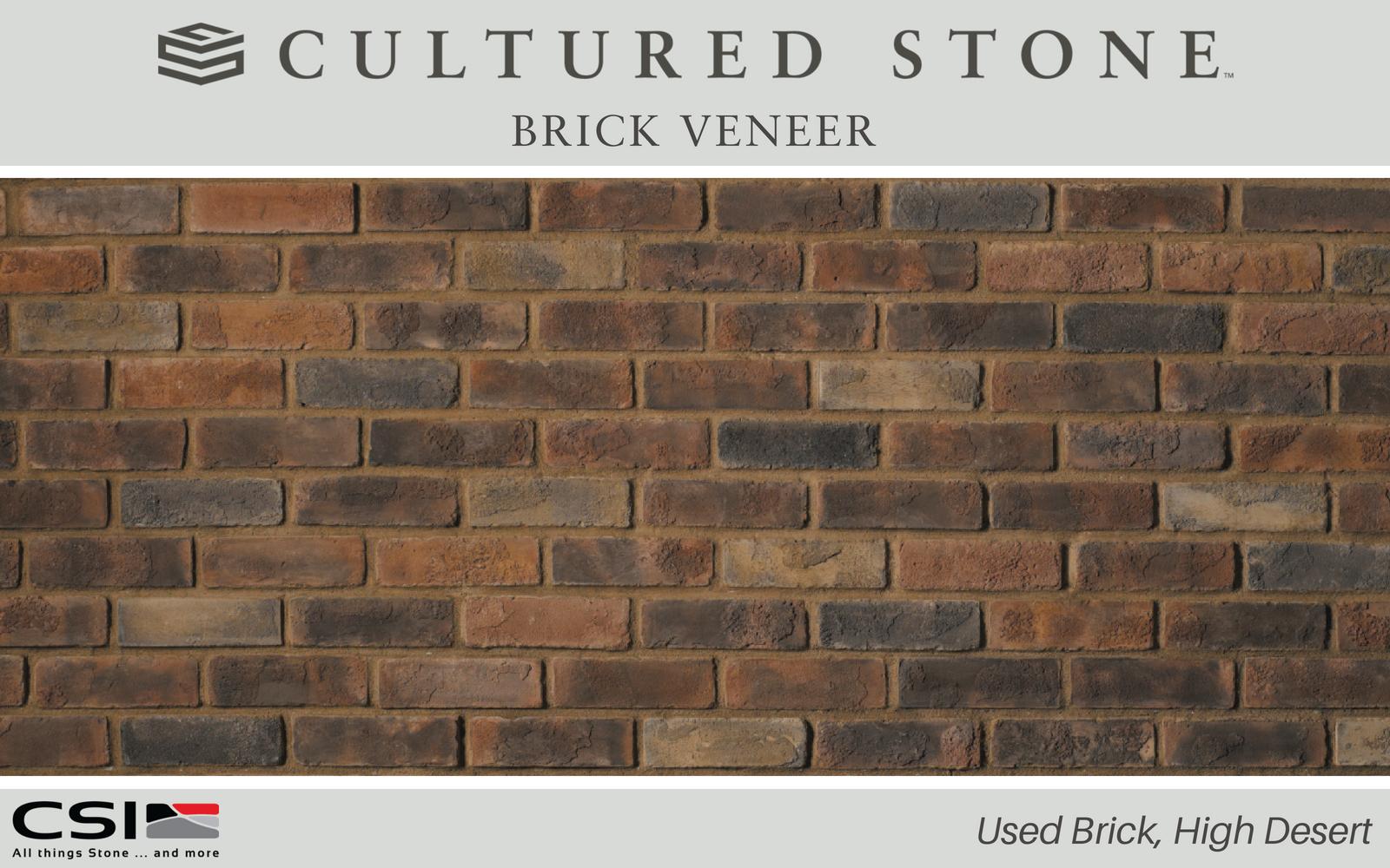 Used Brick From Cultured Stone Cultured Stone Brick Veneer Stone