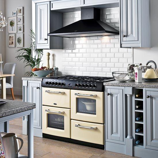 Kitchen Design Range Cooker: Range Cooker & Subway Tiles