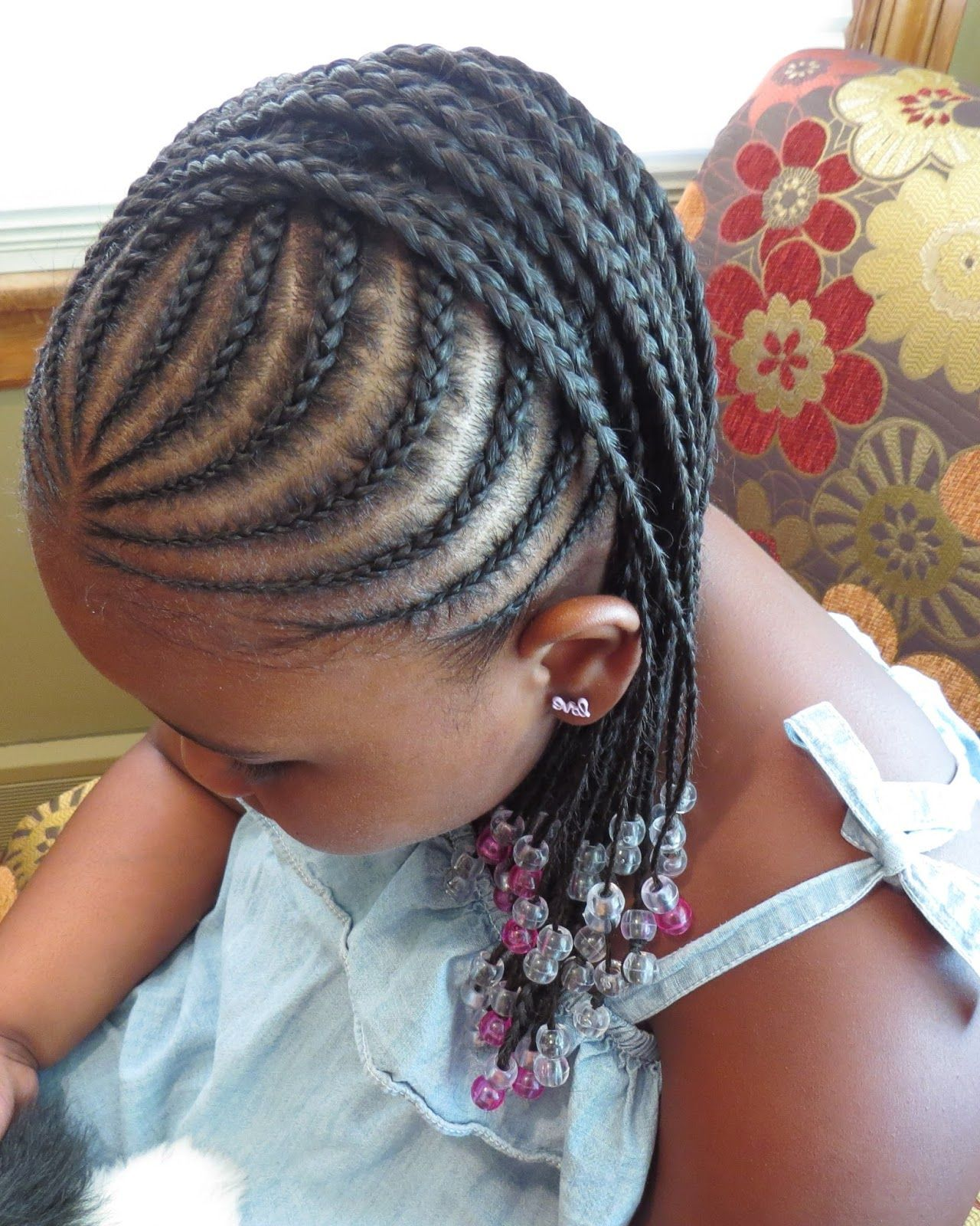 hairstyles for children with natural hair |  hairstyles, braids