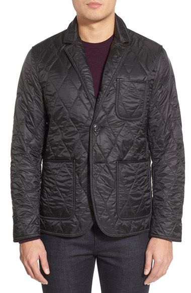Burberry Brit Gillington Water Resistant Quilted Jacket Nordstrom Quilted Jacket Men Mens Jackets Quilted Jacket