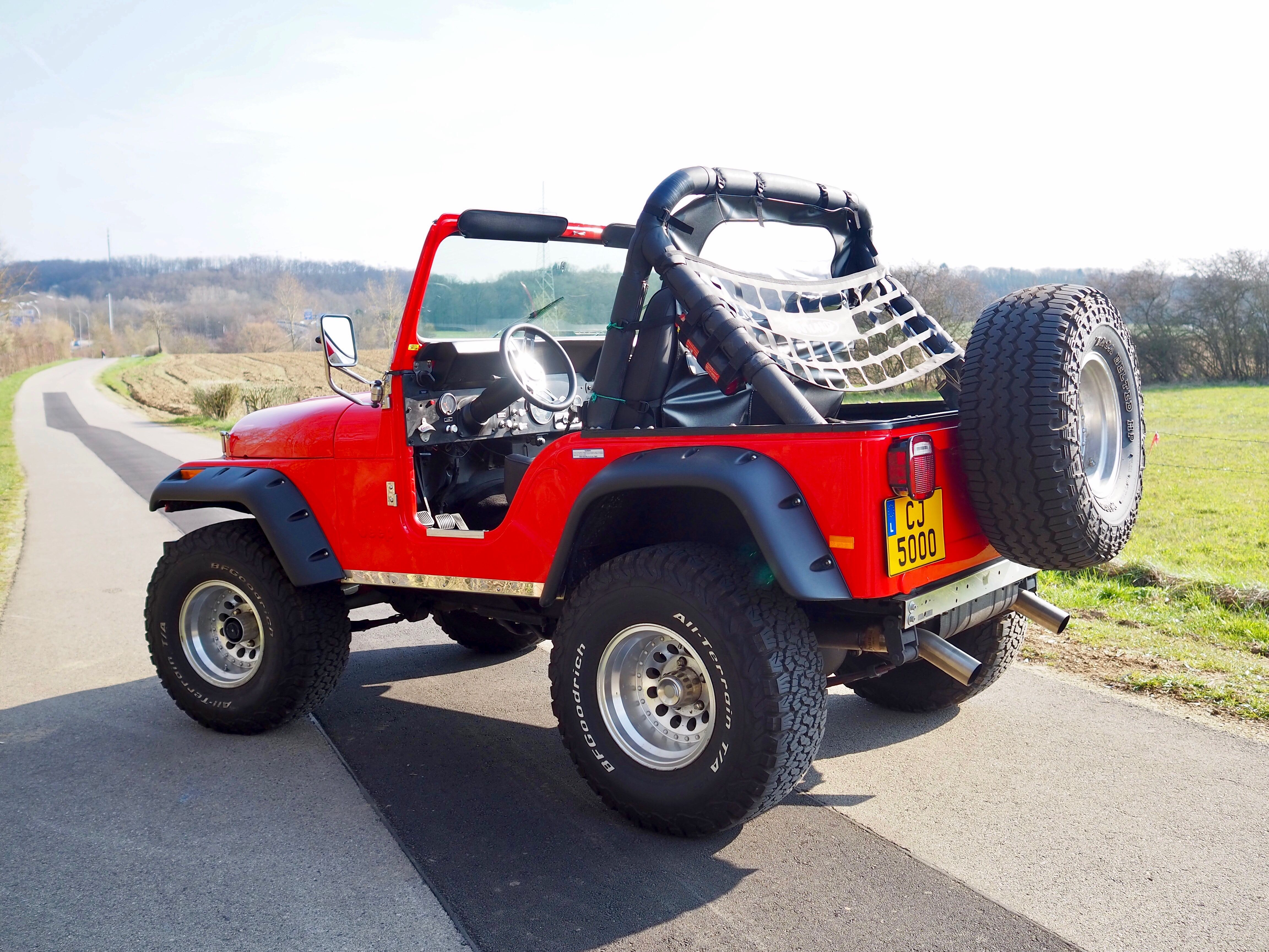 No Roof No Worries Jeep Adventure