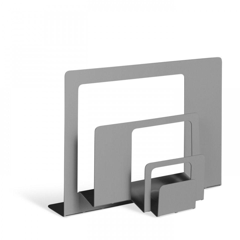 2D 3D Grey Modern Desk Organizer Basement Ideas