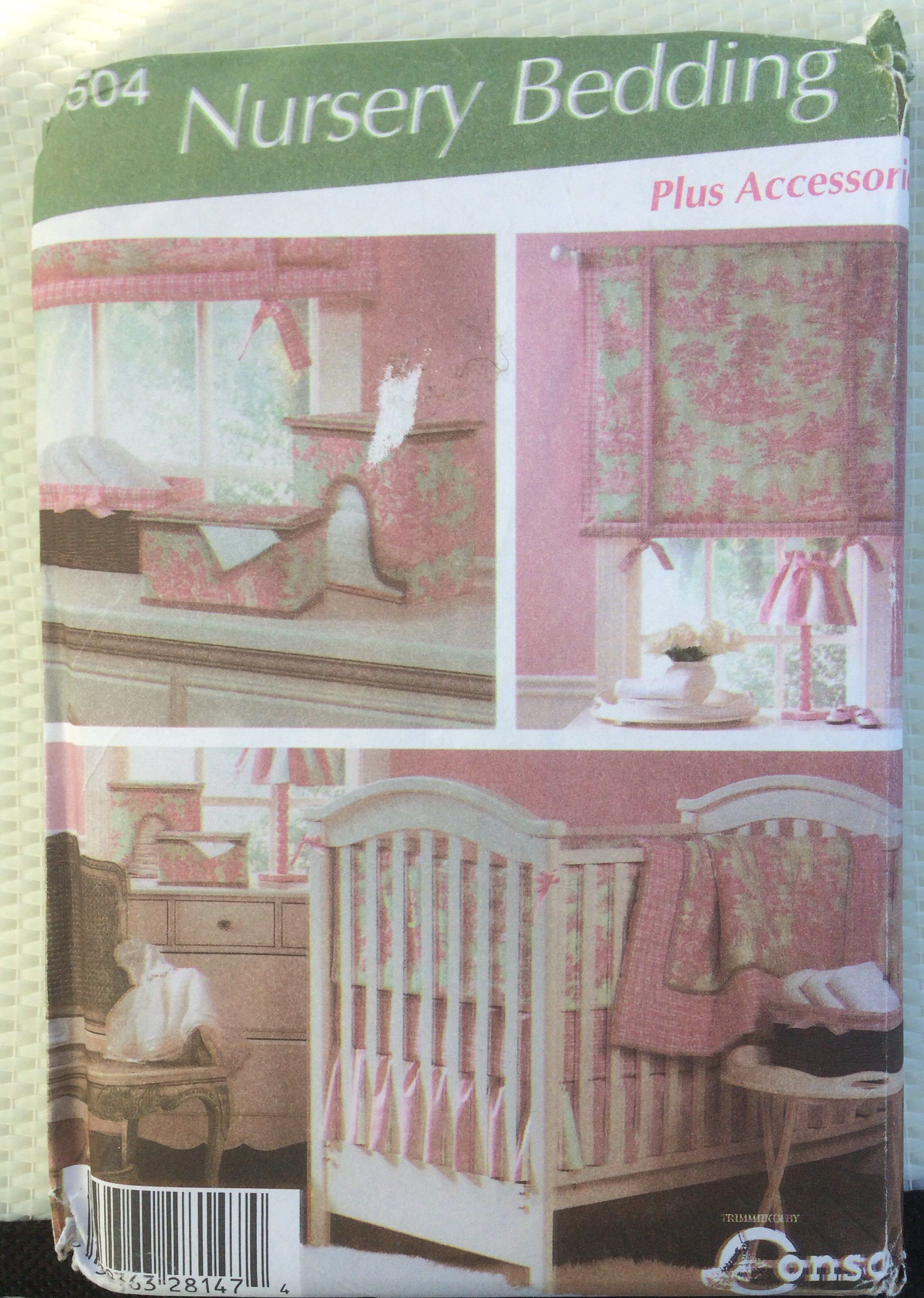 Nursery Accessories And Crib Bedding Simplicity Sewing Pattern