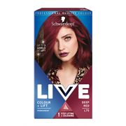 Schwarzkopf Live Colour & Lift L75 Deep Red Gallery
