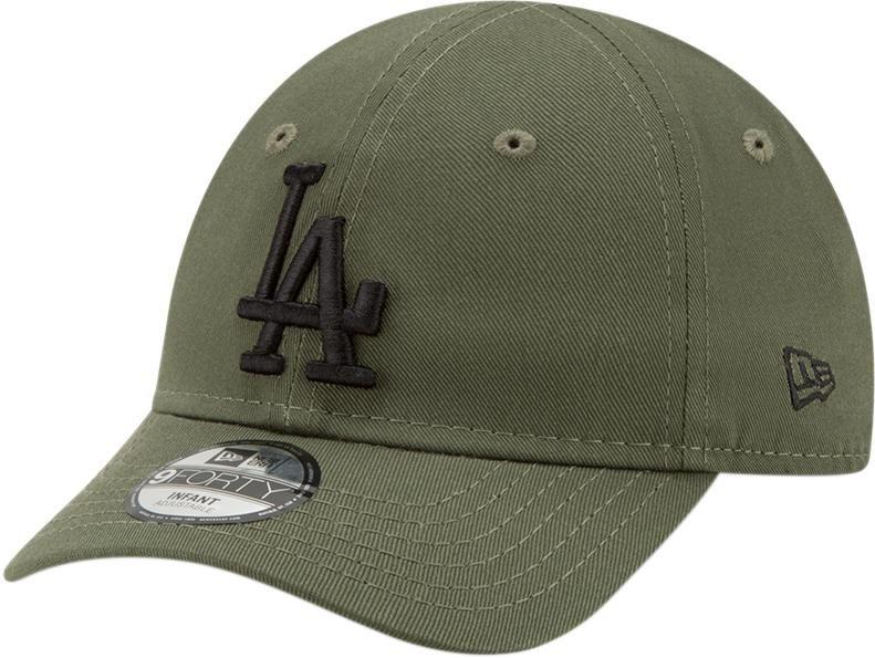 56c74916539 LA Dodgers New Era 940 Stretch Fit Infants Olive Cap (0-2 years) – lovemycap