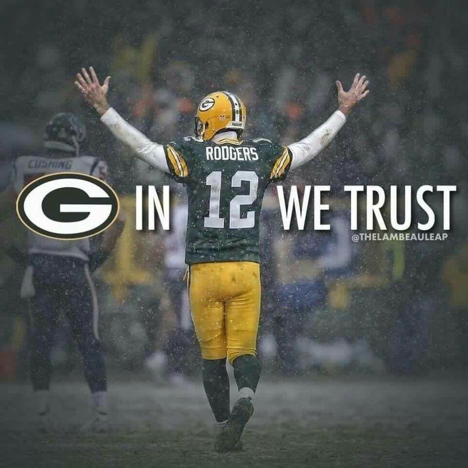 In 12 We Trust Green Bay Packers Wallpaper Green Bay Packers Rodgers Green Bay