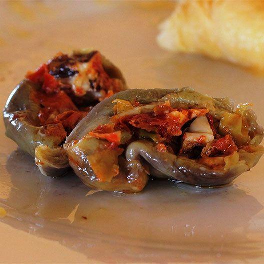 باذنجان مكدوس Cook Eat Cooking Food Mediterranean Recipes