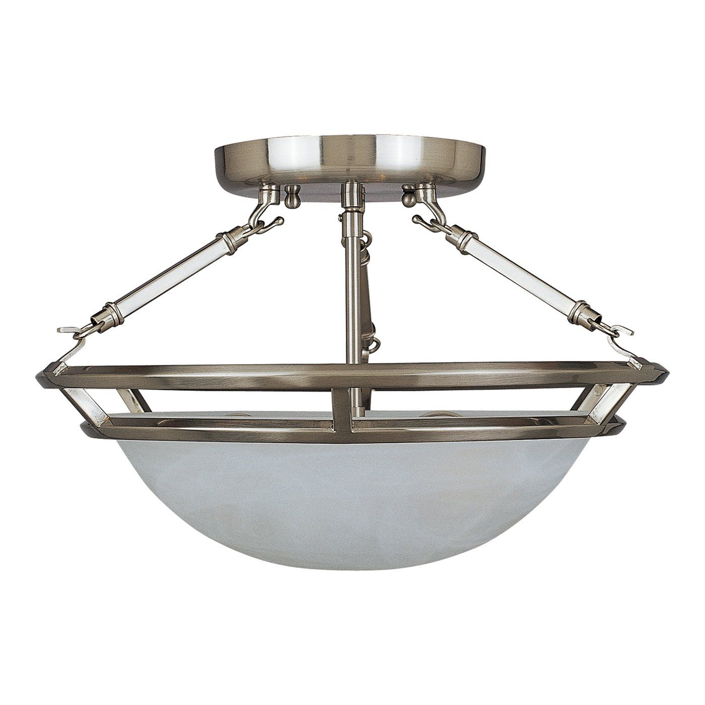 Shop Maxim Lighting 2670MR 3 Light Stratus Semi Flush