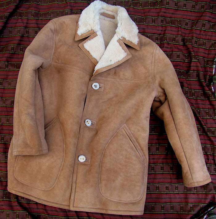 Lost Worlds Napa Shearling (Sheepskin) Car Coat | Vêtements et ...
