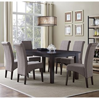 The Franklin 7 Piece Dining Set Was Designed To Enhance Any Dining Room Or  Breakfast Nook Setting. With Touches Of Classic And Contemporary Styles, ...