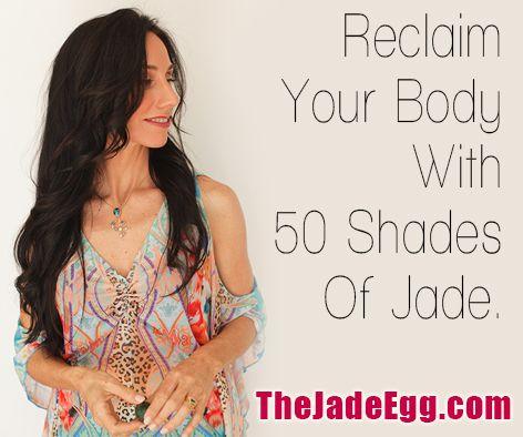 #JadeEgg Ignite your own erotic genius www.TheJadeEgg.com