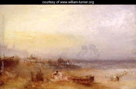 The Morning After the Storm, c.1840-45 - Joseph Mallord William Turner - www.william-turner.org