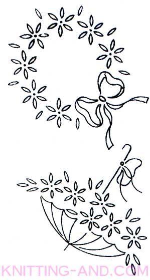 Vintage Embroidery Patterns Around 1940 Im Wondering If The