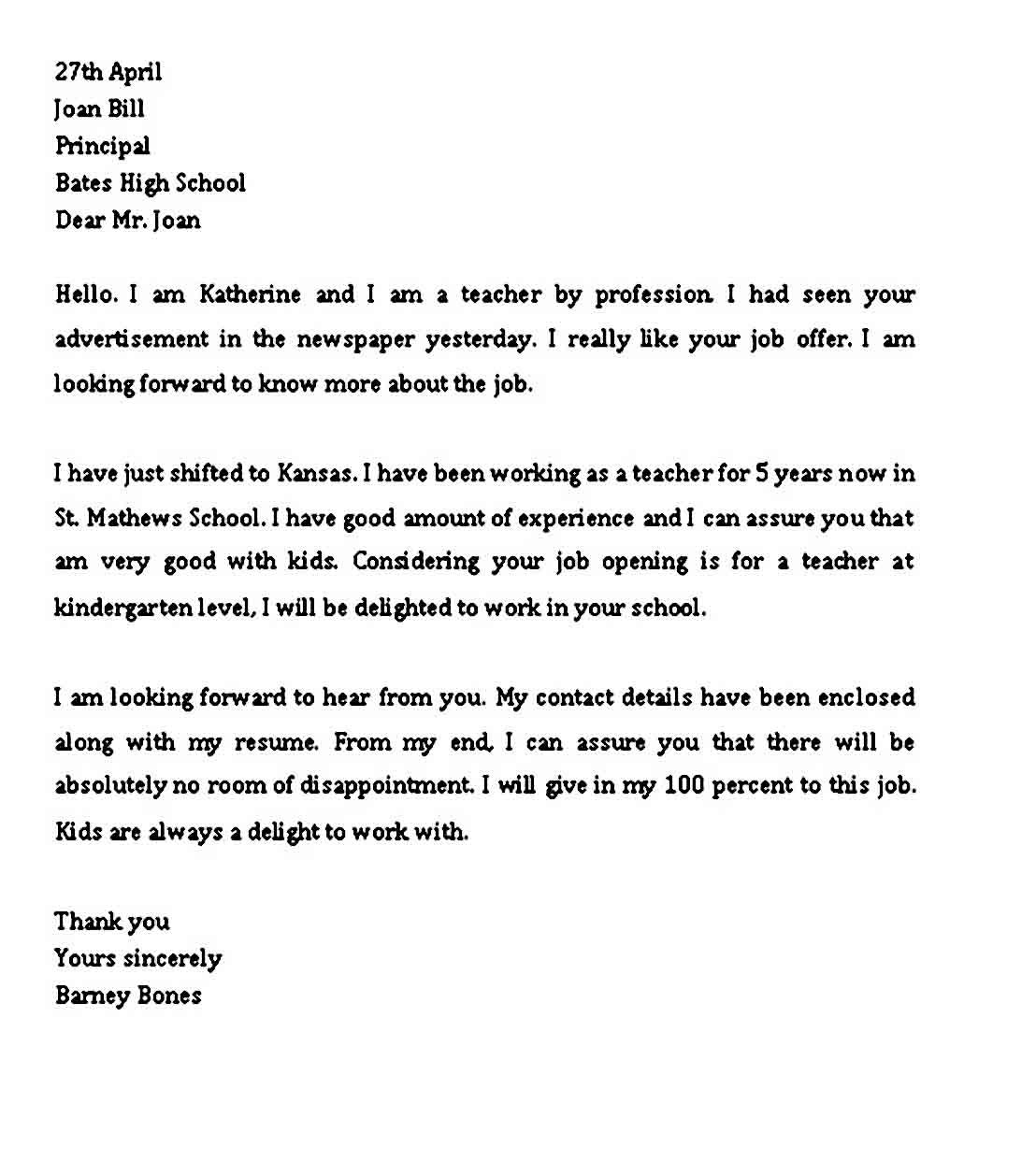 8 Sample Professional Letter Format Pdf Word Professional
