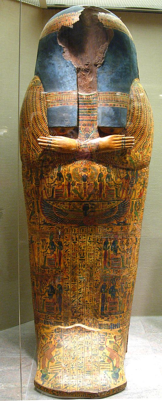 Outer Coffin of the Singer of Amun Nany Period: Third Intermediate Period…