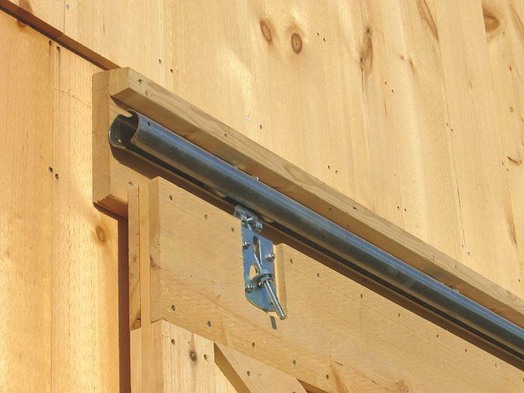 How To Build A Barn Sliding Barn Door How To Build
