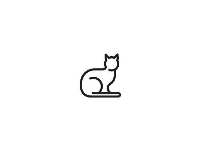micio logo brand identity x micio cat food logo pinterest rh pinterest com Stray Cats Logo Cuddly Cat Logos