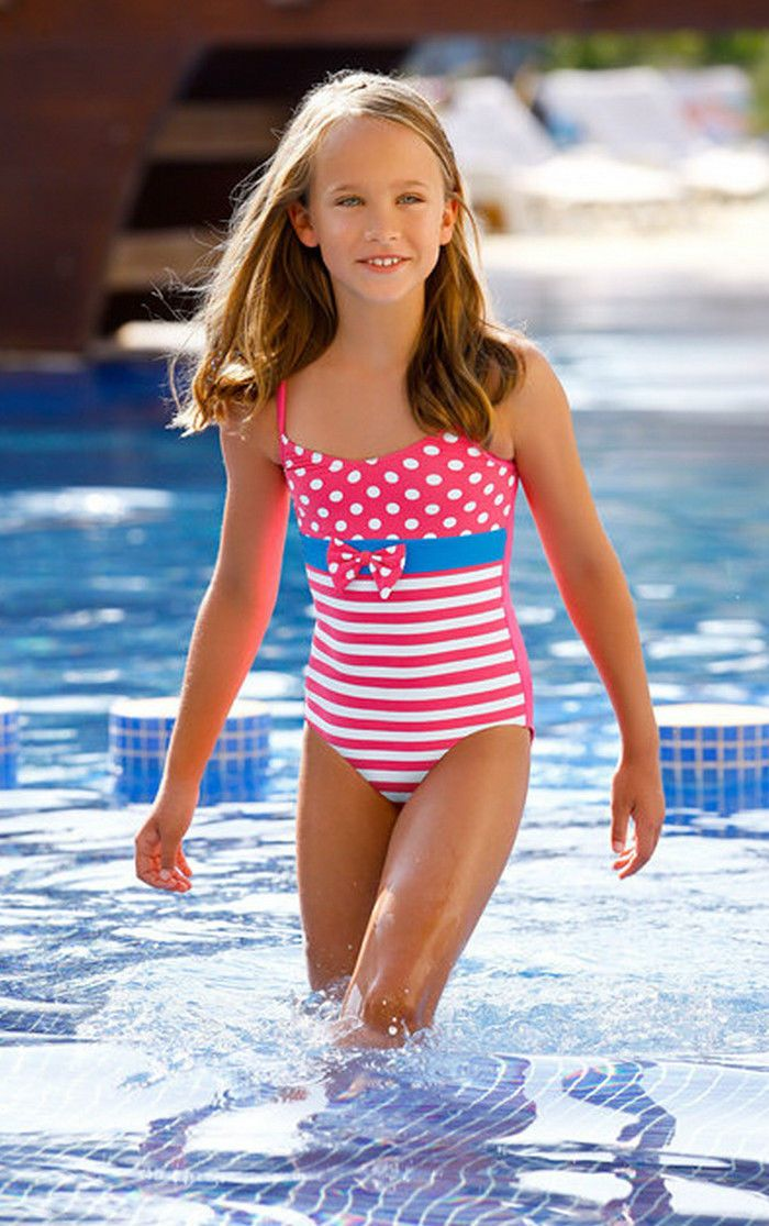 Kids Girls Swimsuit Swimwear Swimming Costume Beachwear 2 ...
