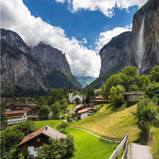 Lauterbrunnen, Switzerland, is stunning beyond words