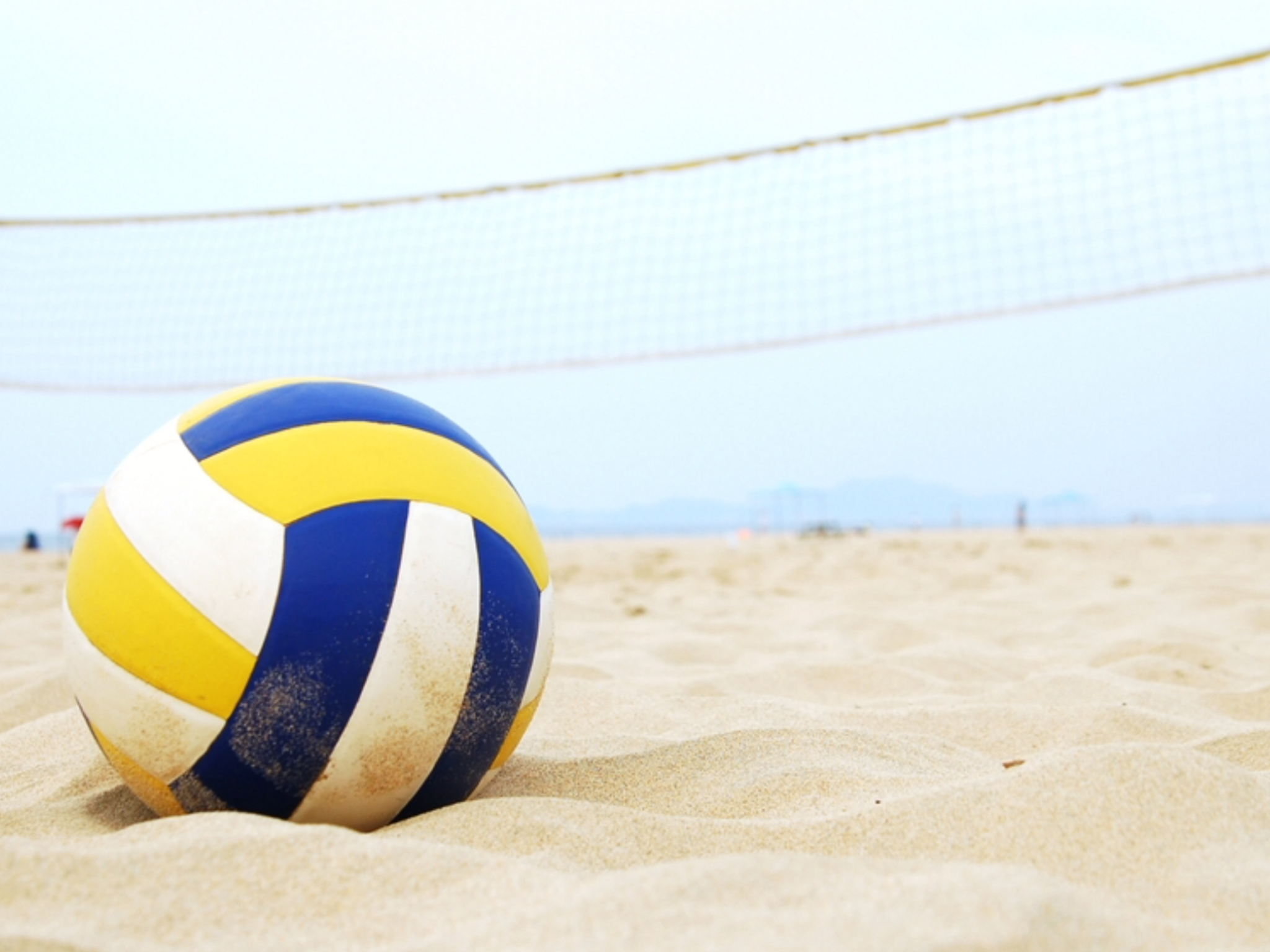 I Absolutely Love Volleyball And I Thought You Guys Should See This Pic Of A Volleyball On A Beach Beach Volleyball Volleyball Tournaments Volleyball Workouts