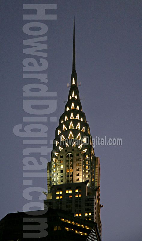The Chrysler Building Lights With Images Chrysler Building