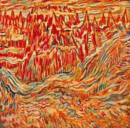 Sattar Bahlulzade-Red-Mountains-DateUnknown.jpg (432×425)